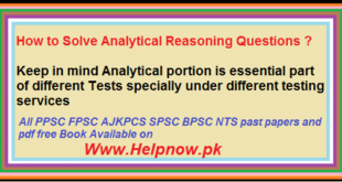 How to Solve Analytical Reasoning Questions