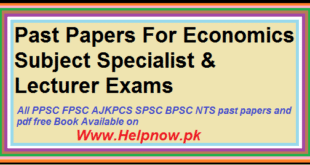 ppscs s past papers