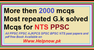 ppsc free past solved papers pdf mcqs