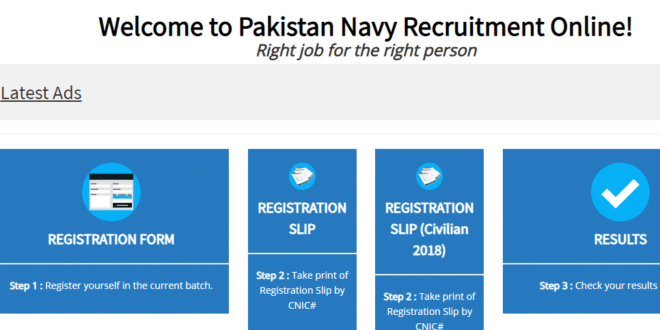 Jobs in PAKISTAN NAVY for Females