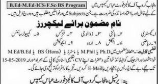 jobs in Fort abbas 2019